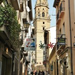 Downtown Haro, the capital of the Rioja region and a wonderful place to enjoy tapas.